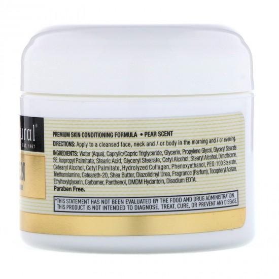 كريم البشرة بالكولاجين برائحة الكمثرى - (57 جم)