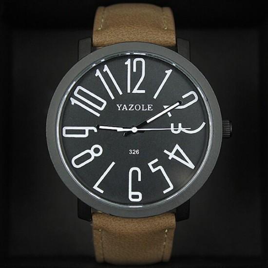 ساعة Yazole الرجالية