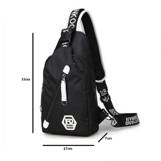 حقيبة Mochila الذكية بمنفذ شحن
