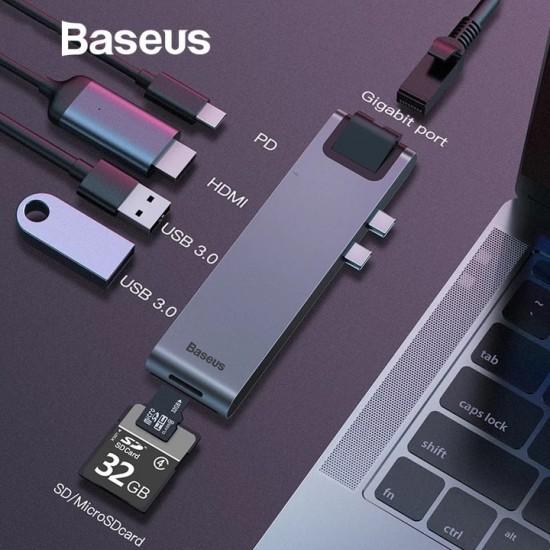محول USB C - HDMI من شركة بيسوس